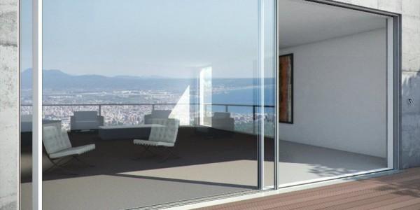 Алюминиевые окно